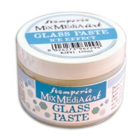 "ПАСТА Stamperia, ""GLASS PASTE"", ГЕЛЕВАЯ C МИКРОСФЕРАМИ"